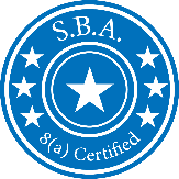 SBA 8a Certified companuy